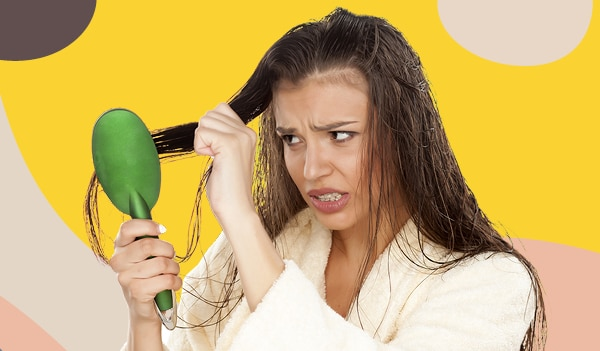 Hold up — is brushing your hair when it's wet a bad thing? We investigate