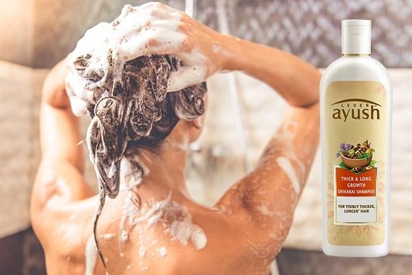 Step 4: Wash off using a mild shampoo