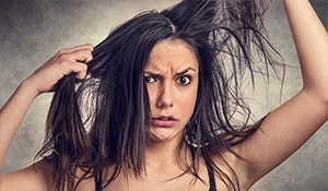 Don't stress – It affects your tresses in more ways than one