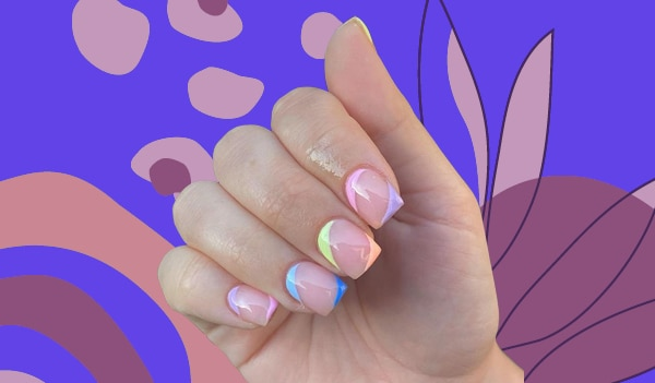Double Cuticles And Tips Are The Latest Nail Trend Taking The Internet By Storm