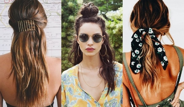 Easy hairstyles to complement your easy-breezy summer dresses