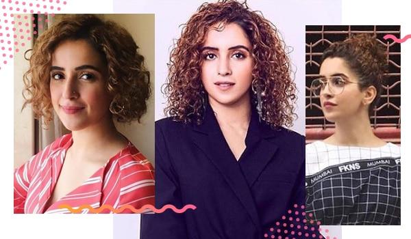 Embrace your curls like Sanya Malhotra