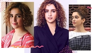 Embrace your curls like Sanya Malhotra