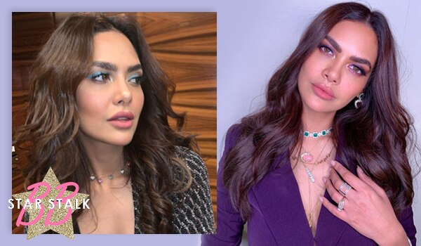 Esha Gupta's eye makeup has so much drama, it deserves a show of its own!