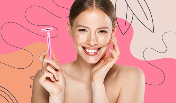 Everything you need to know about face shaving for women