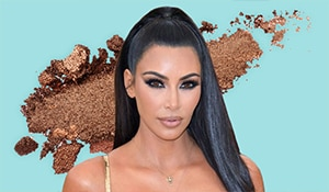 This is the eyeshadow trick the Kardashians use to fake a thicker hairline