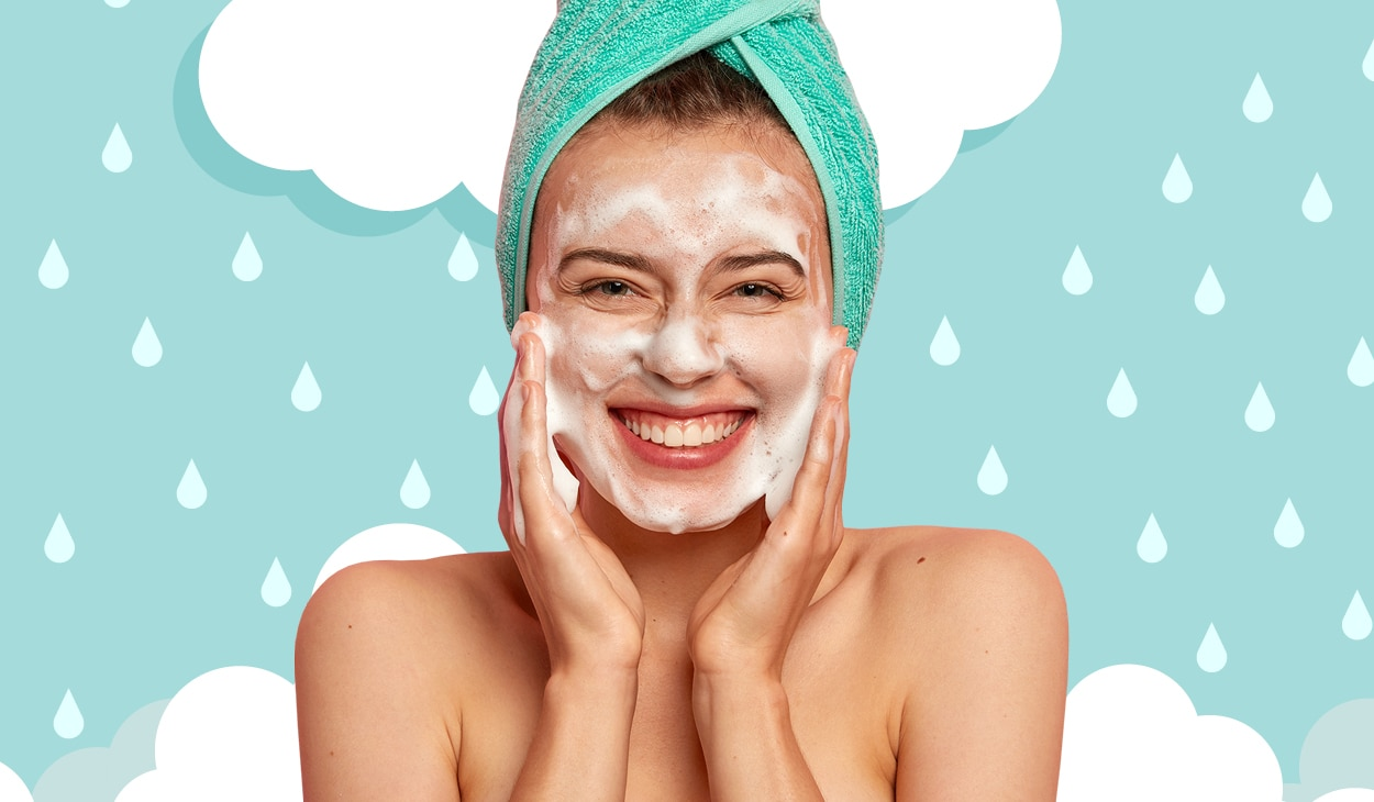 Tackle monsoon woes with these face washes for different skin types