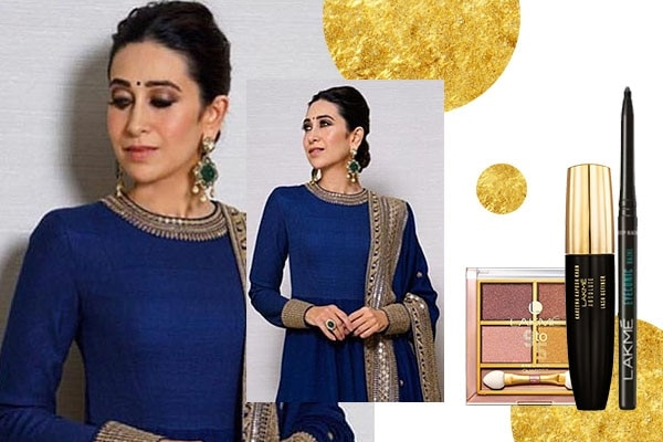 Karisma Kapoor – Golden smokey eyes