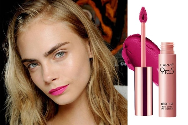 Fuchsia pink lipsticks to brighten your summer look
