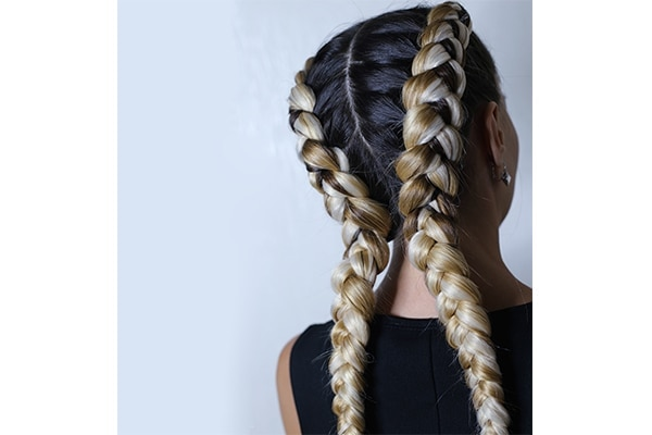 Bold box braids