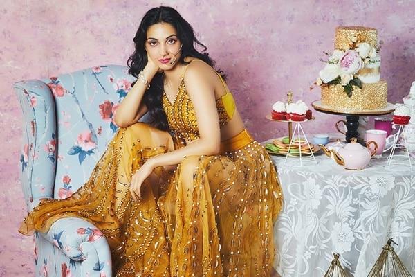 Kiara Advani on the cover of Femina Wedding Times