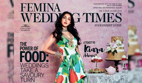 Get the gloss like Kiara Advani on the cover of Femina Wedding Times