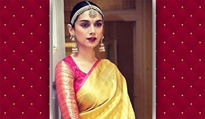 Get the look: Crushing over Aditi Rao Hydari's vintage bridal makeup