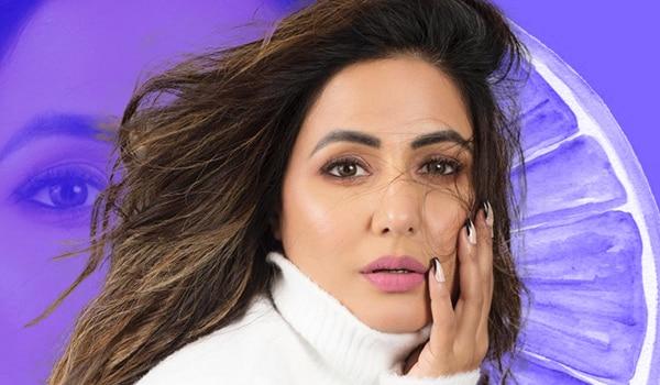 Get the look: Hina Khan's minimal winter makeup look