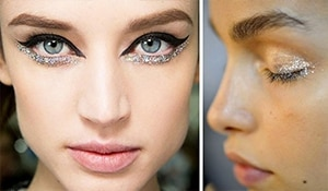 Glitter and girls are inseparable. But what if you are a makeup minimalist?