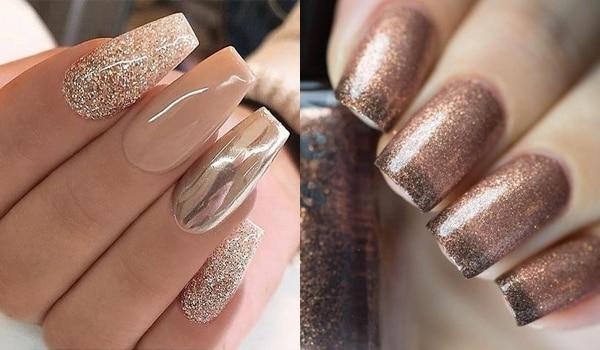 Go Gold! 7 golden nail art designs to rock this shaadi season