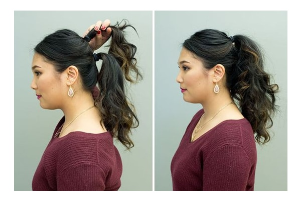 Double ponytail