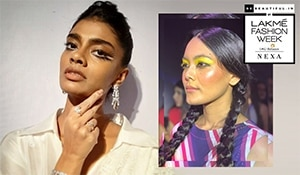 LFW WF'19: Ditch the cat eye! This festive season is all about graphic eyeliner