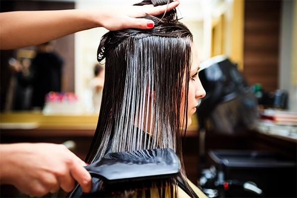 What is hair rebonding?