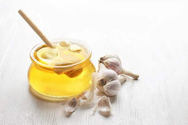 Try a garlic and honey mask