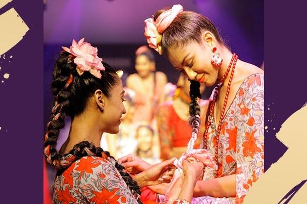 (ribboned braids yogesh choudhary)