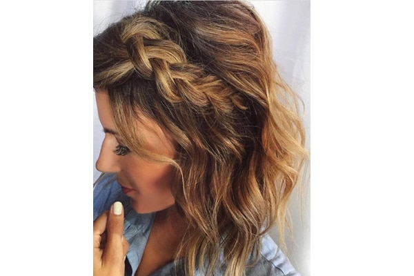 02. Try braided hairstyles