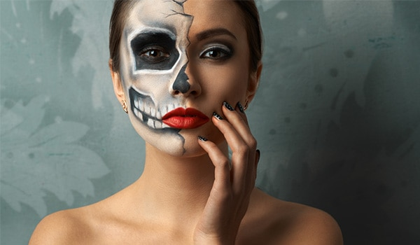 Prepare your skin for all that Halloween makeup