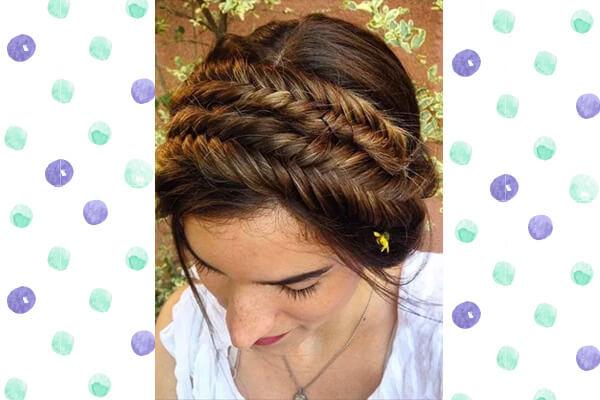 5 Ways To Wear A Fishtail Braid Hairtysle Bebeautiful
