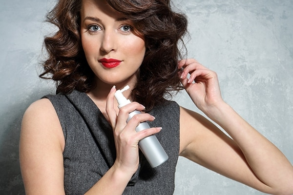 Dry shampoo to your rescue
