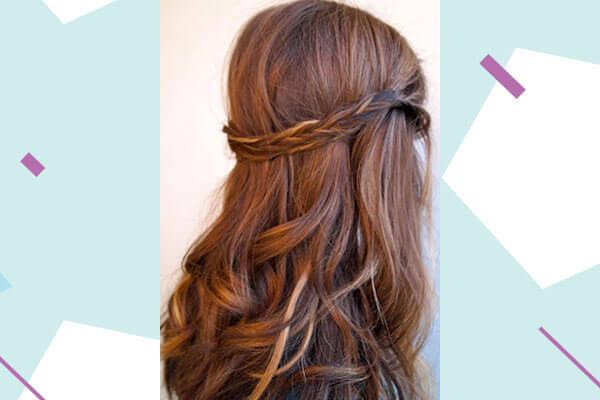 Easy Hairstyles For Your Engagement Ceremony Bebeautiful