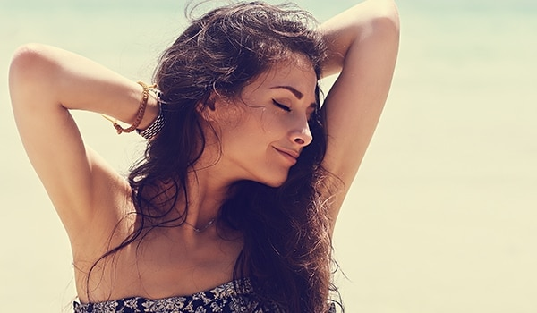 Here's how you can care for your sensitive, underarm skin