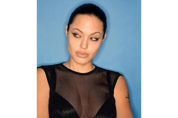 Angelina Jolie—eyes that could kill
