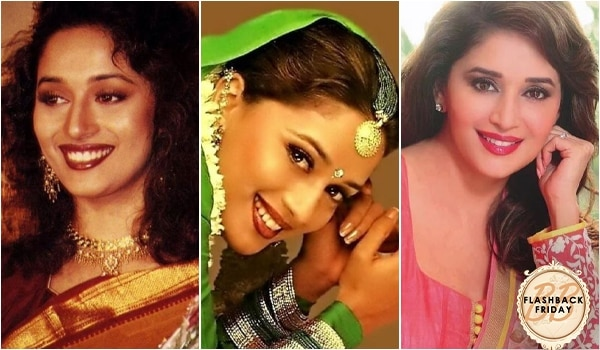 Here are all the beauty lessons we learned from the Dhak Dhak Girl of Bollywood