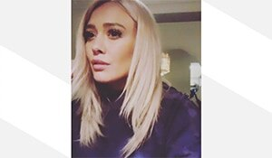 Hilary Duff's 'Winter White' hair colour will make you run to your hair stylist right now