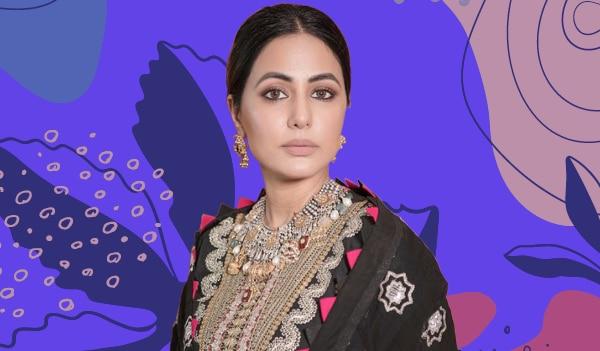 Get the look: Hina Khan's striking nude makeup look