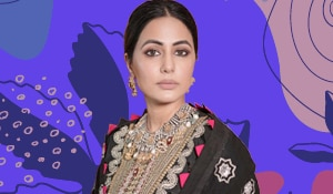 Get the look: Hina Khan's striking nude makeup look
