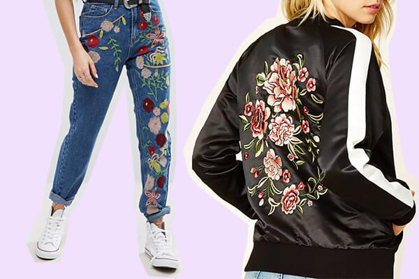 How to style embroidery elements in your look