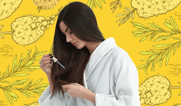 How to treat an itchy scalp with tea tree oil
