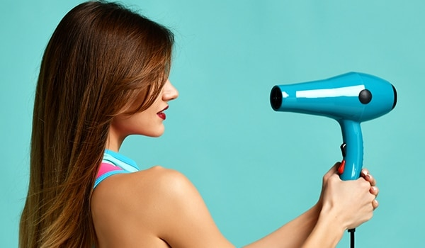 How to cheat a professional blow-dry at home