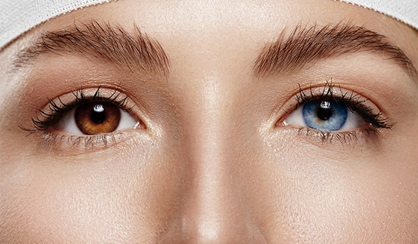 How to choose the right coloured contacts for your complexion
