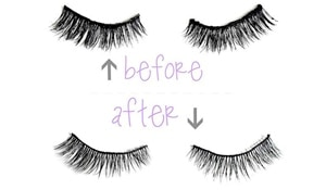 The only method you need to know to clean your false lashes