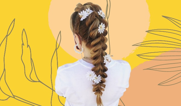 How to create pull-through braids — the hottest hairstyle this summer