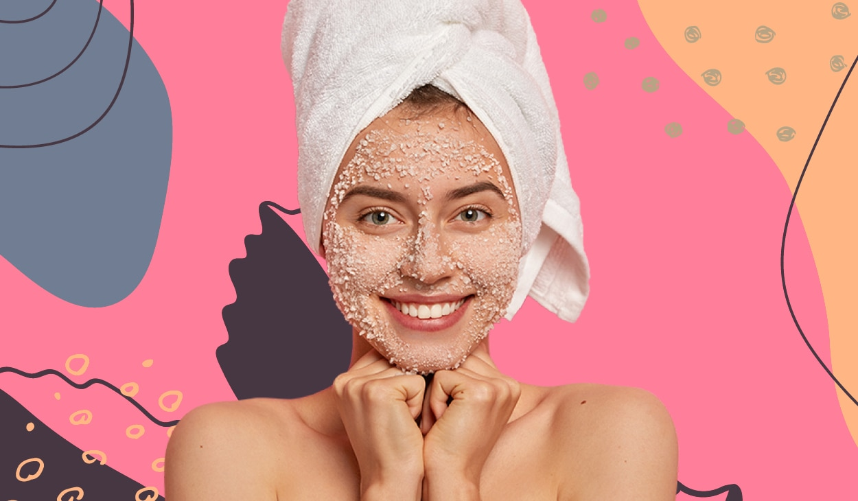 How to exfoliate your skin at home without causing damage