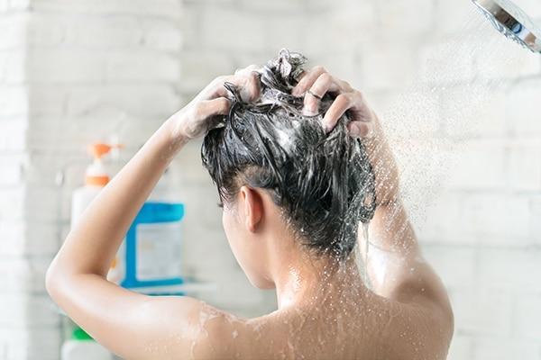 Hair washing technique
