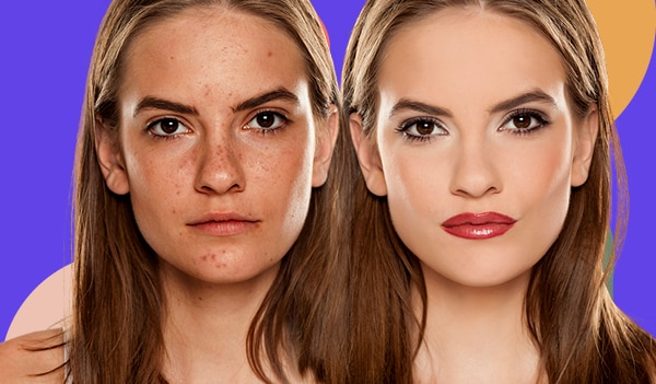 How to make your skin look smooth with makeup in 5 simple steps