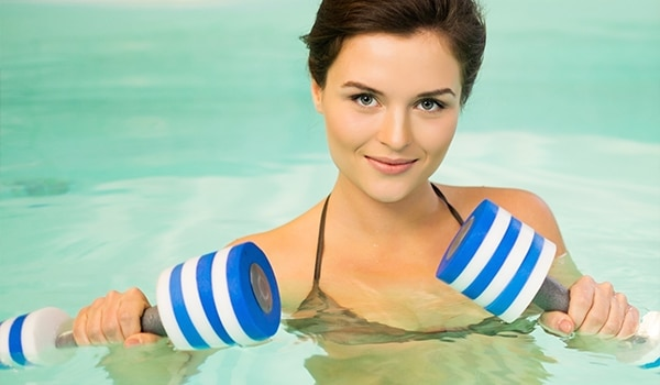 How to prep your skin before water aerobics
