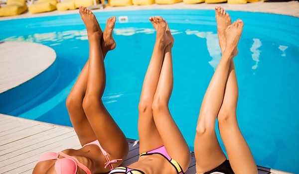 How to protect every part of your body from the chlorine in swimming pools