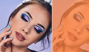 How to pull off the perfect cut crease neon makeup like a pro