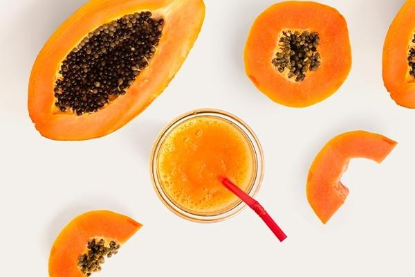 Honey and Papaya For Remove Tan