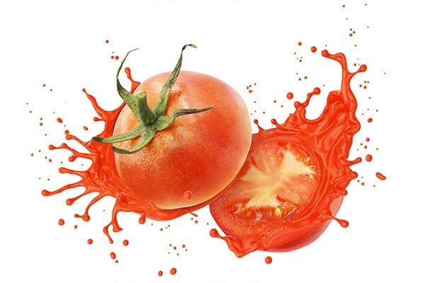 Tomato Juice and Yogurt For Remove Tan